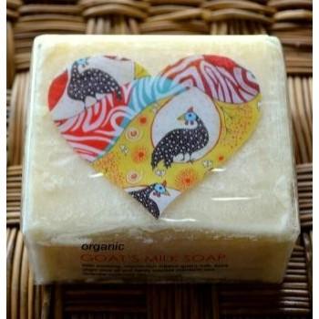 Organic Goat's Milk Soap 100% Natural - Barefoot Living