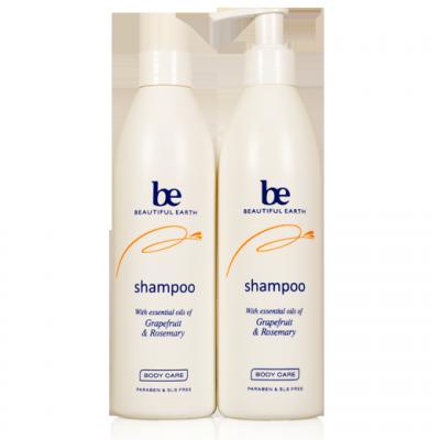 Beautiful Earth Shampoo with cap